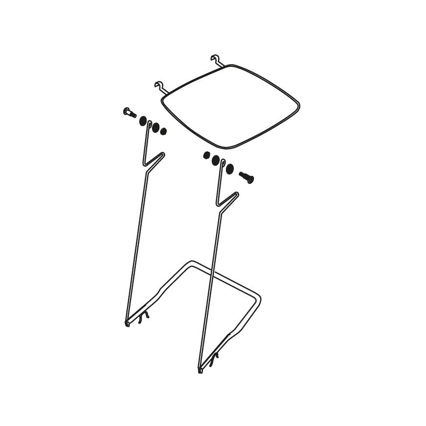 Sedia Per Ufficio Tecno X Arredi Metallici Arredamento