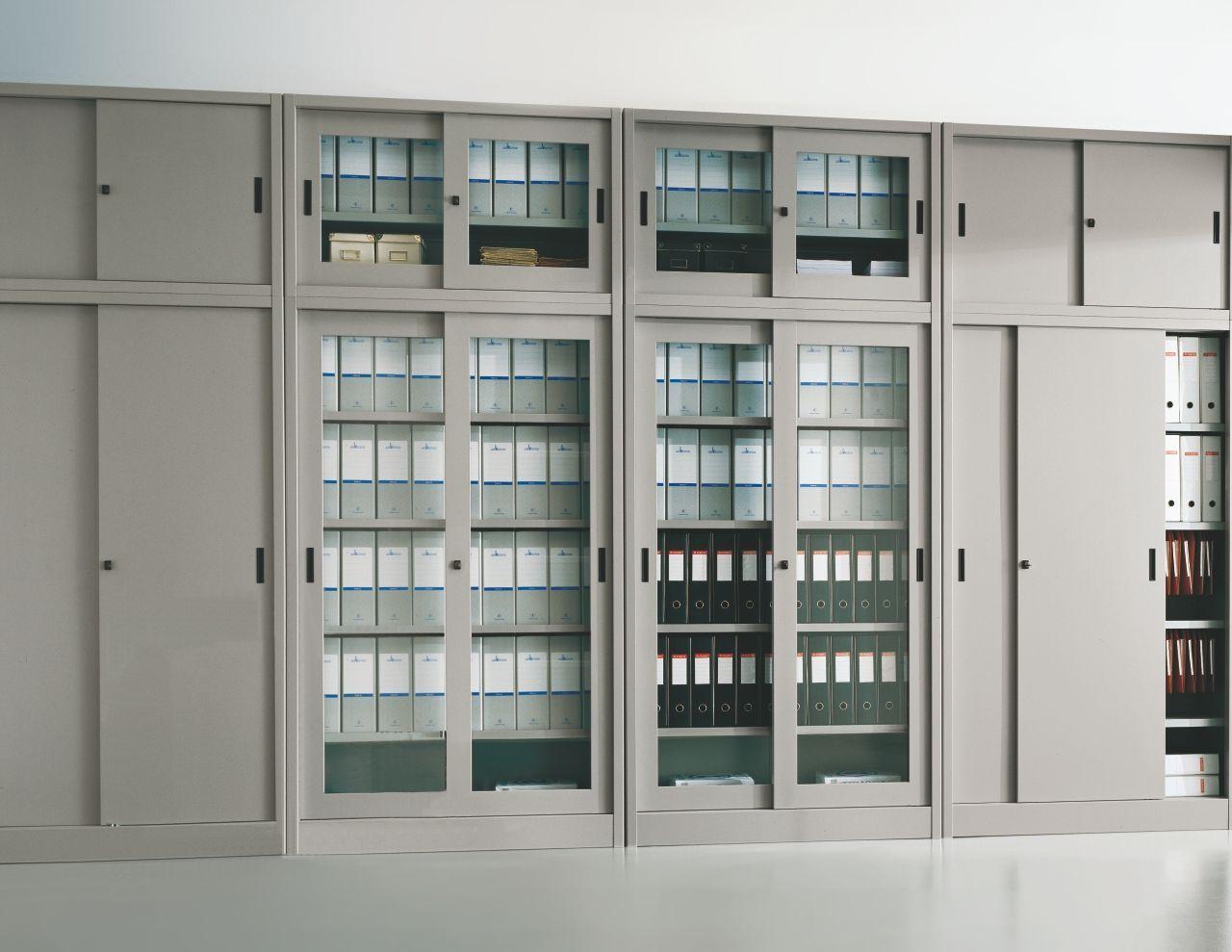 Armadio Metallico Ufficio : Armadi metallici ante scorrevoli imetallici arredamento