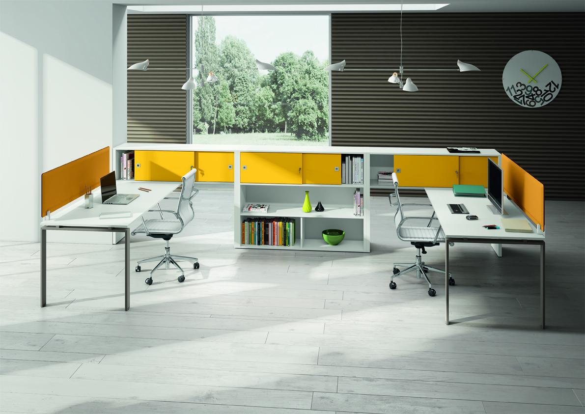 Scrivania Ufficio Oggetti : Scrivania per ufficio operativo loft imetallici arredamento
